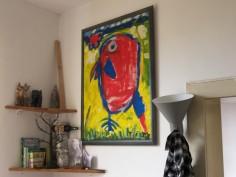 Aufenthaltsraum, Kunst, selbstgemalt
